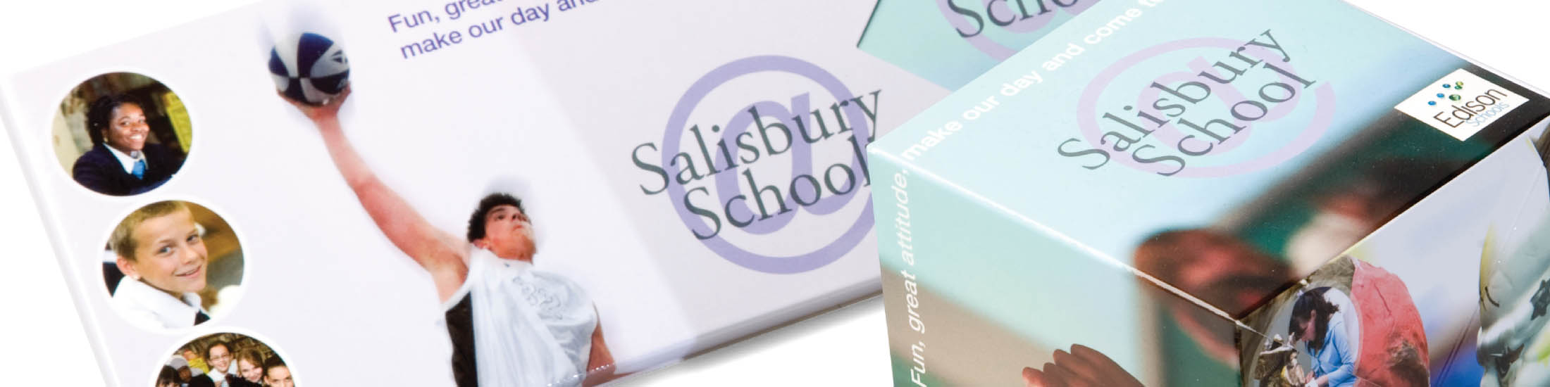 Salisbury School promotional items