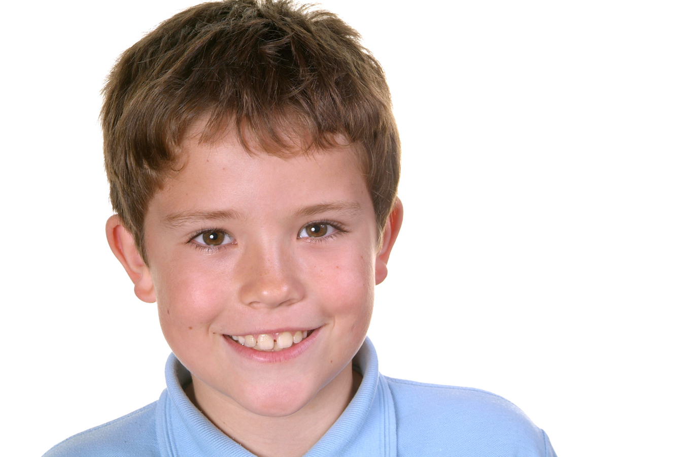 Young boy smiling in contemporary Vancols photo shoot