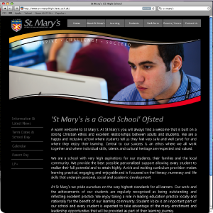 Link to St Mary's High School Website
