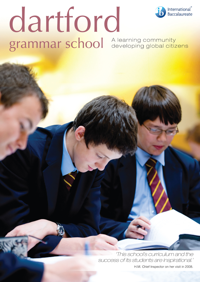 Dartford grammar school brochure