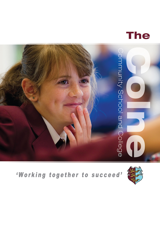 The Colne Community School and College prospectus